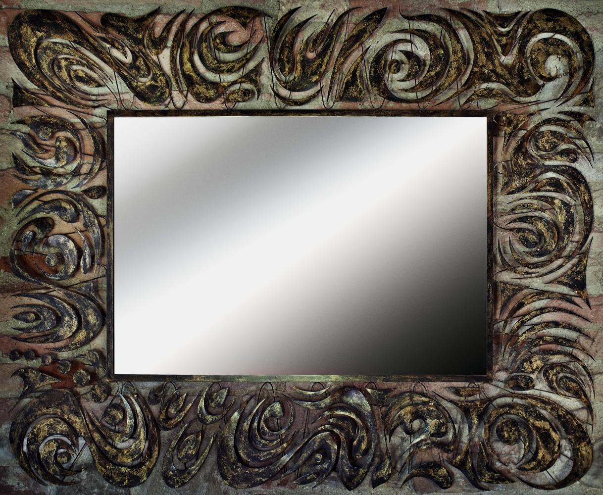 Riccio Anticato - specchi da parete particolari, design, moderni di ...