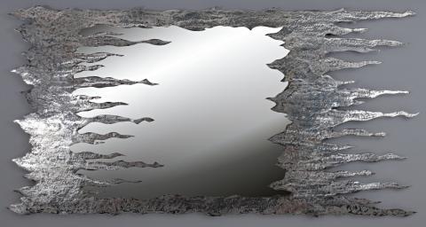 Rilievo Specchi Da Parete Particolari Design Moderni Di Valore