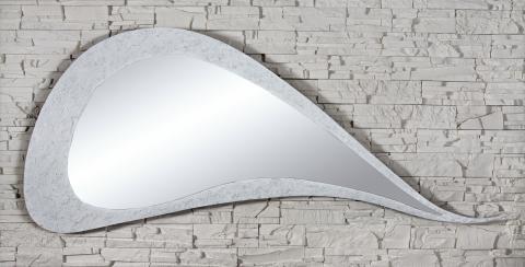 specchio parete forma goccia