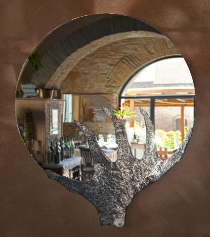 Rilievo - specchi da parete particolari, design, moderni di valore
